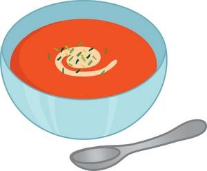 Bowl of soup clipart 3