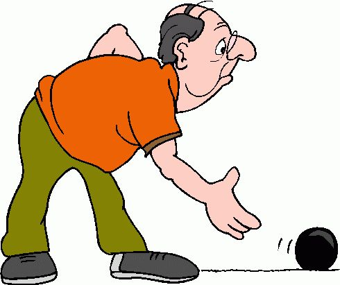 Bowling ball bowling pin and clip art cliparts image 5