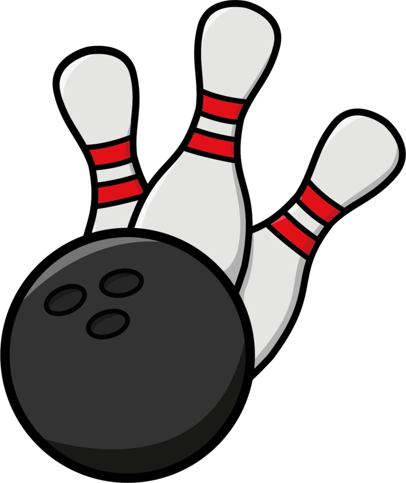 Bowling clipart to download