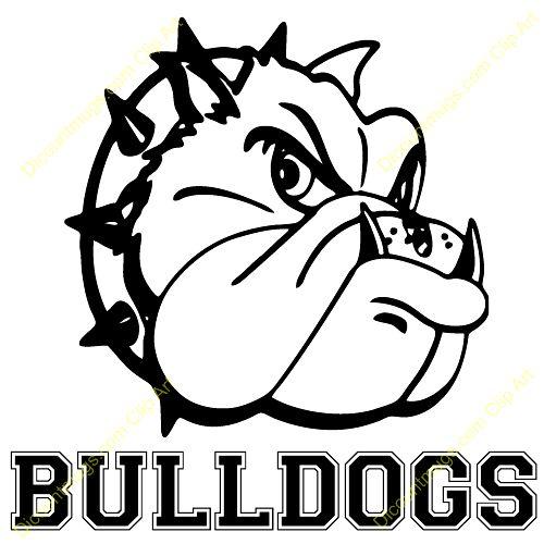 Bulldog clipart 3