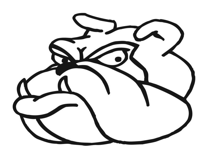 Bulldog clipart 4