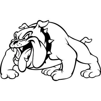 Bulldog mascot clipart free images