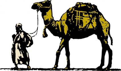 Camel clip art vector graphics
