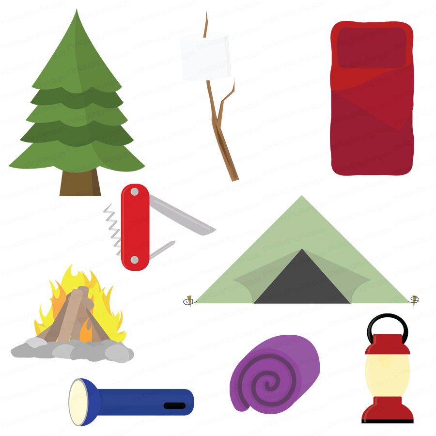 Camping clipart free images 4 2