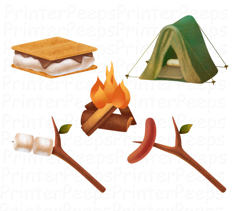 Camping clipart free images 4 5