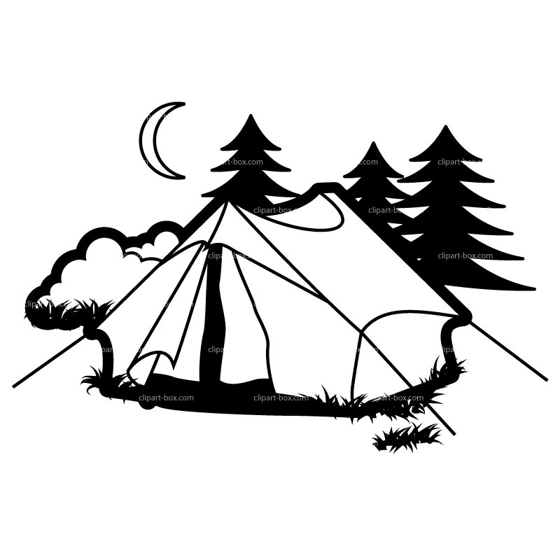 Camping clipart free images 4