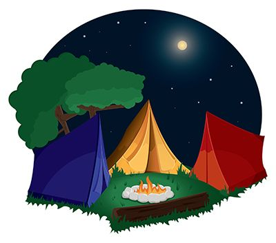 Camping clipart free images 5