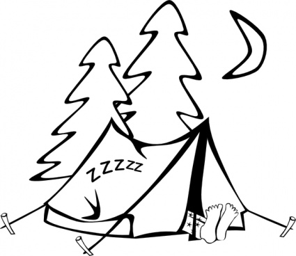 Camping clipart free images 7