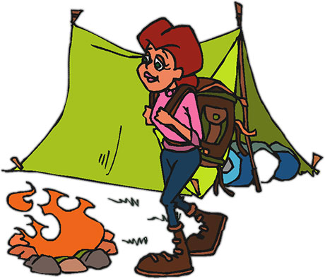Camping clipart free images 8