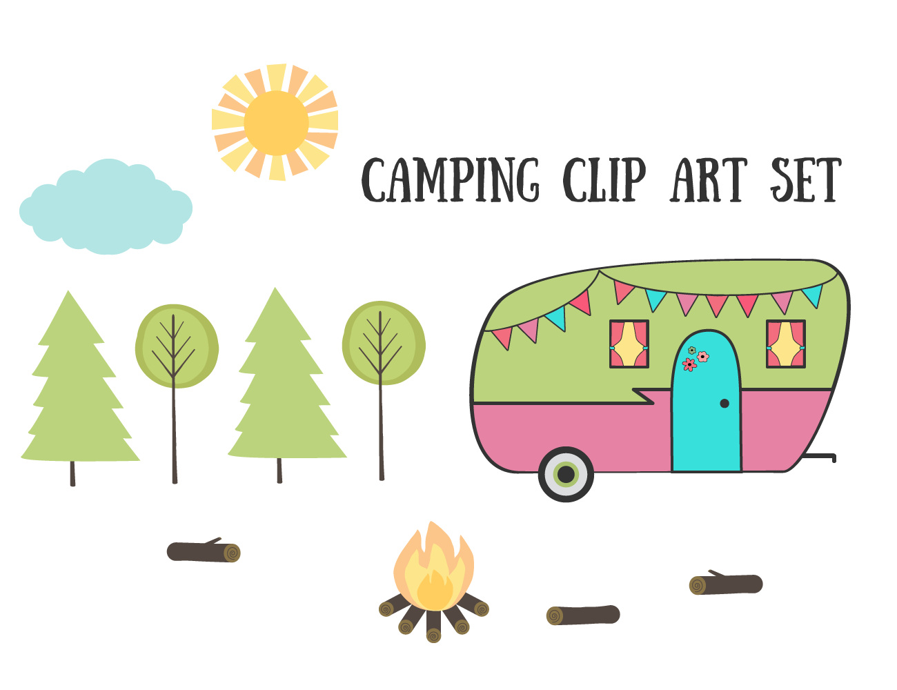 Camping clipart images clipartfest