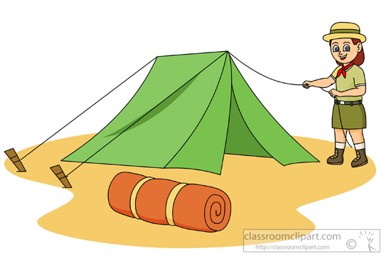 Camping clipart images