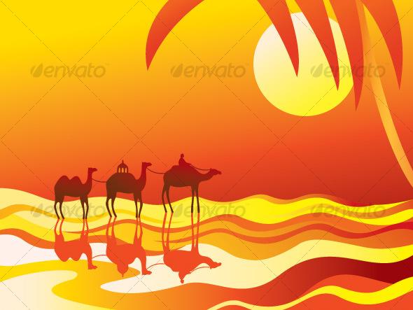 Caravan desert travel clip art clipart free download 2