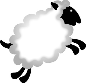Cartoon sheep clipart clipartfest
