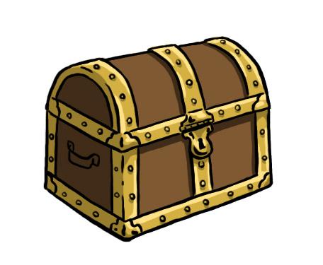 Cartoon treasure chest clipart clipartfest 4