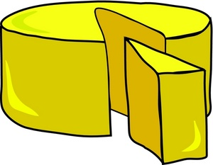 Cheese clip art image 2