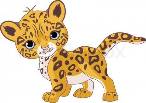 Cheetah clip art 3