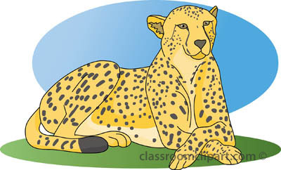 Cheetah clip art briansense 2