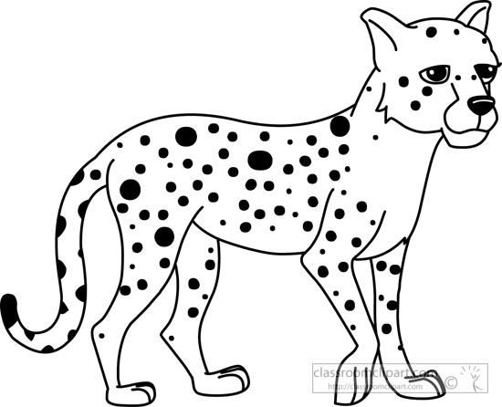 Cheetah clip art download 3