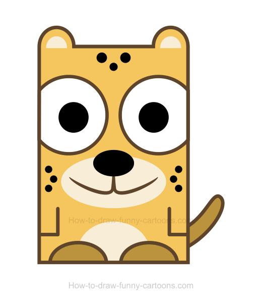 Cheetah clipart 6