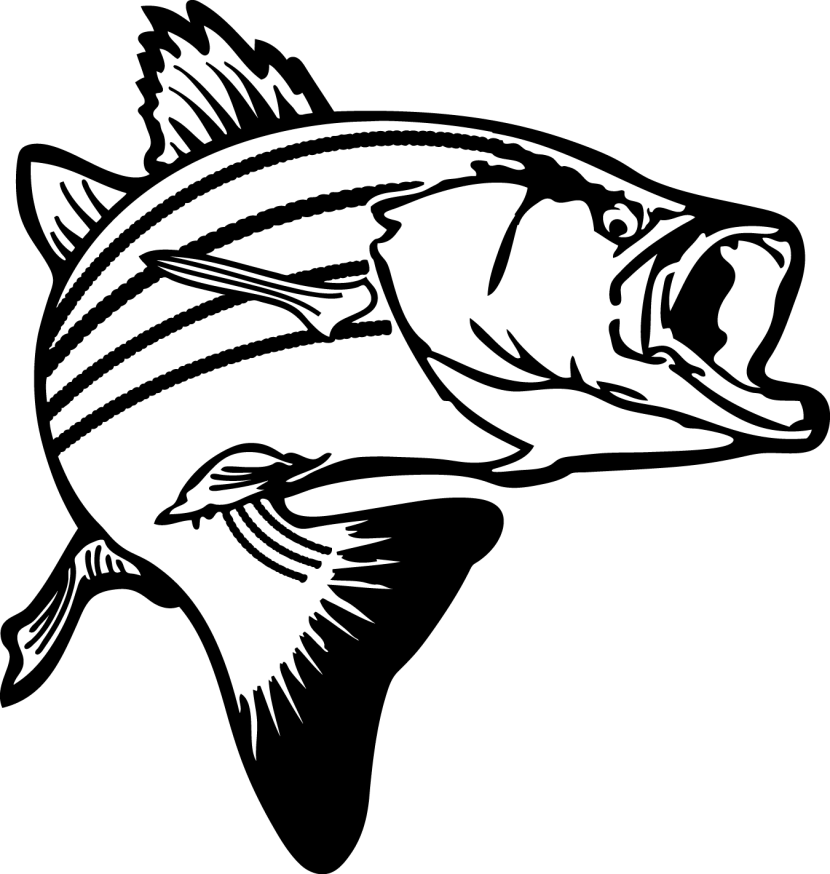 Christmas bass fishing clipart clipartfest 2