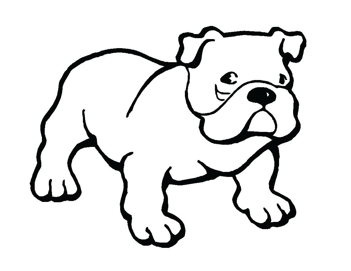 Clip art bulldog puppy clipart 2