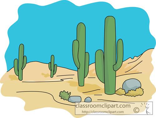 Clip art desert background clipart