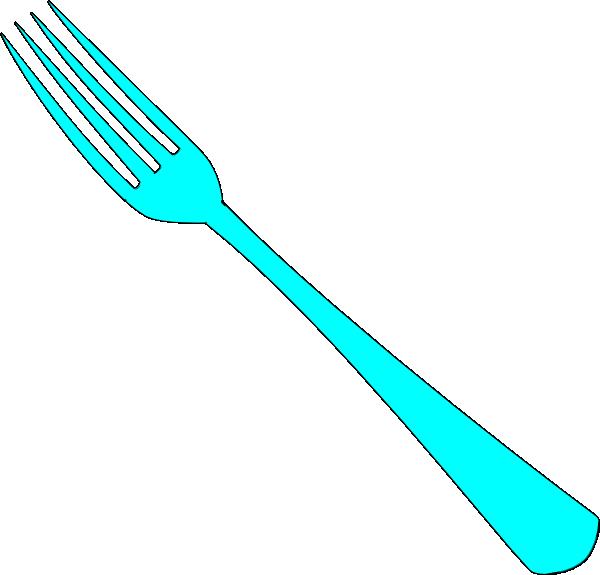 Clip art fork knife plate clipart
