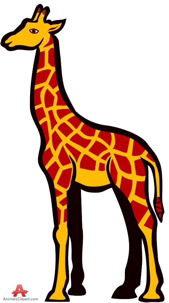 Clip art giraffe clipart 2