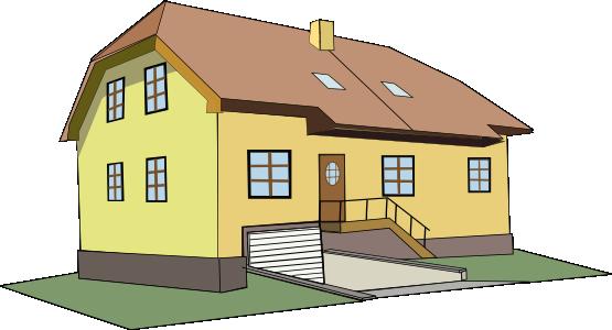 Clip art large home clipart