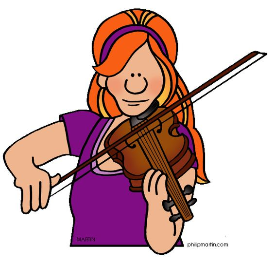 Clip art pictures art and violin on