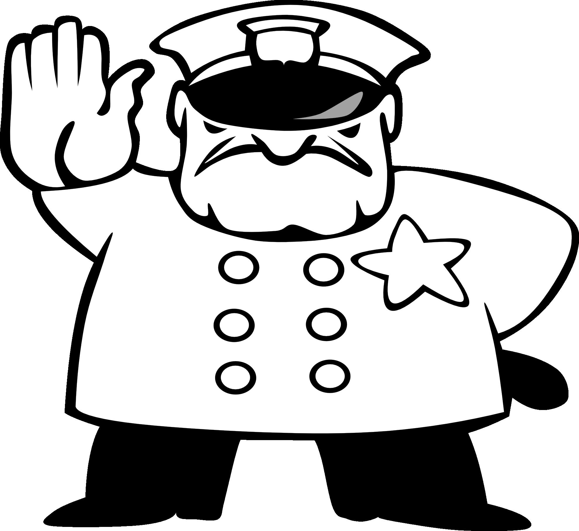 Clip art police clipart image 1 3