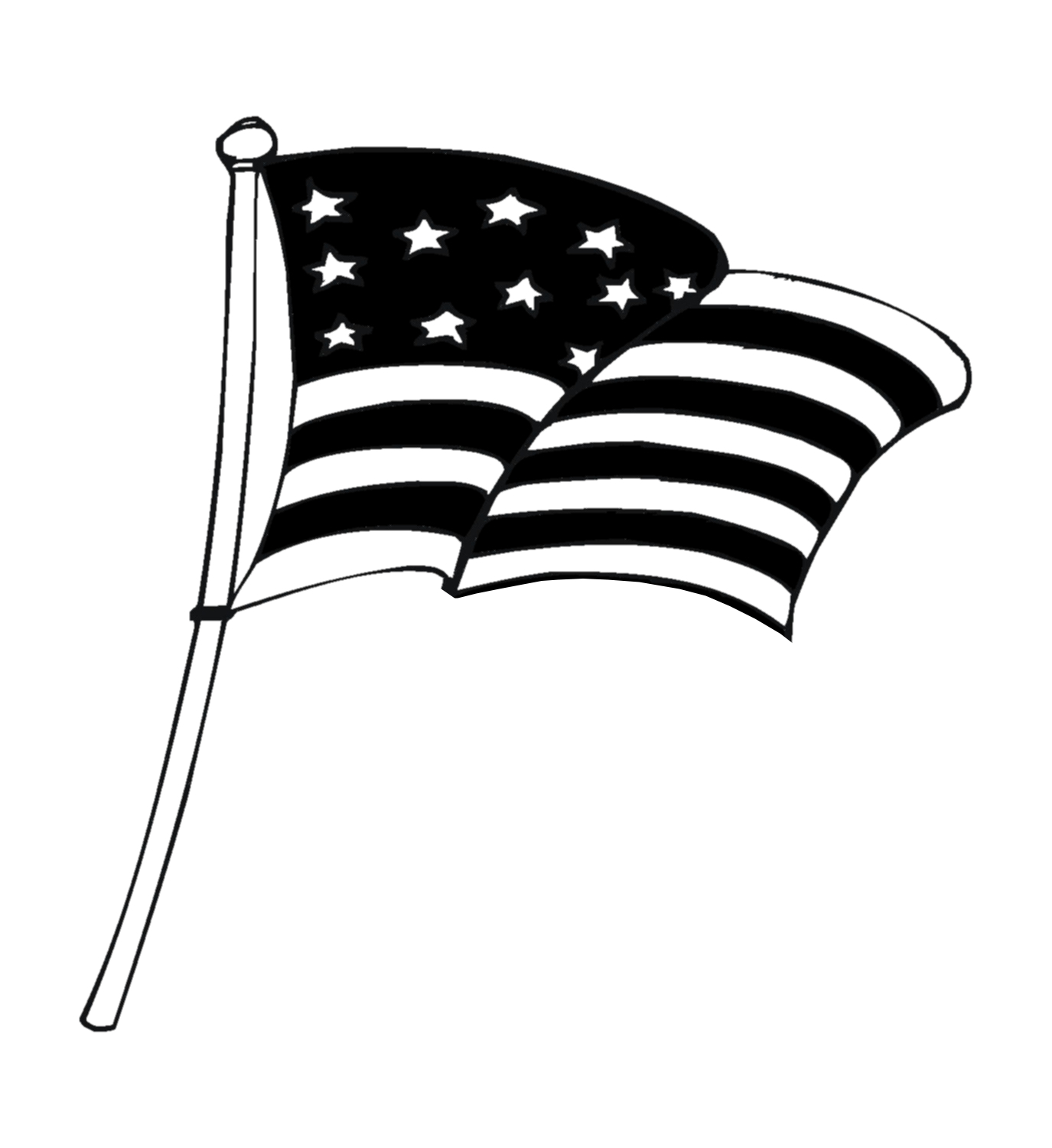 Clip art us flag clipart - WikiClipArt