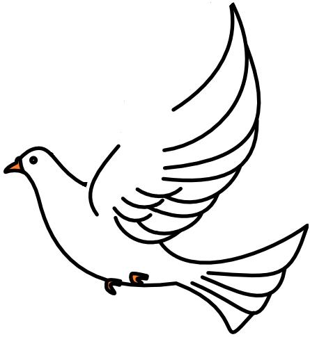 Clipart dove getbellhop