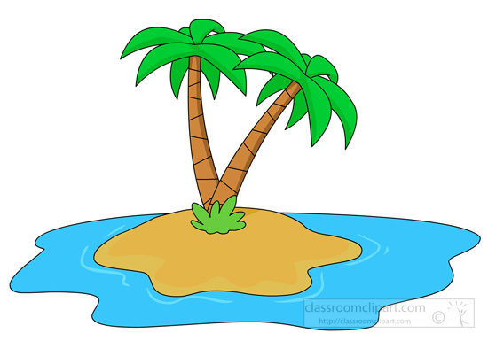 Clipart island palm tree clipartfest