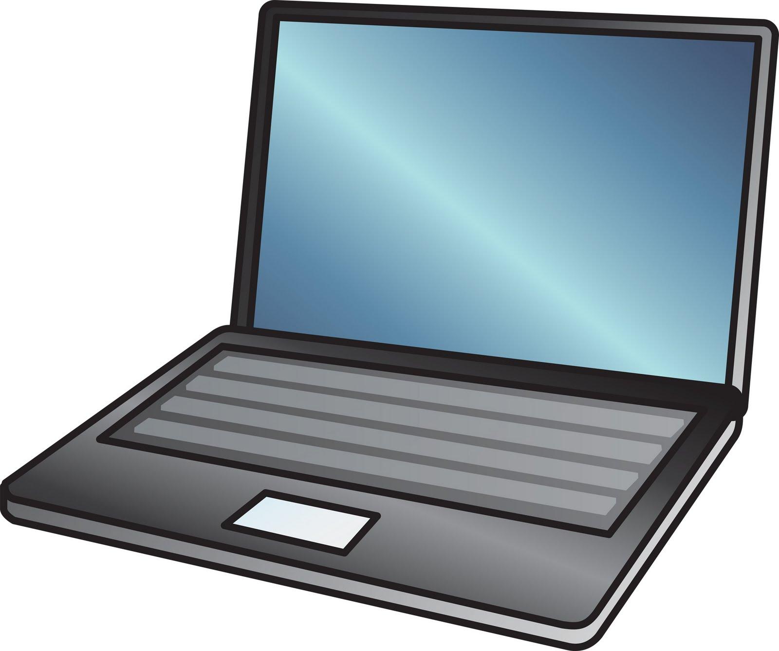 Clipart laptop clipart