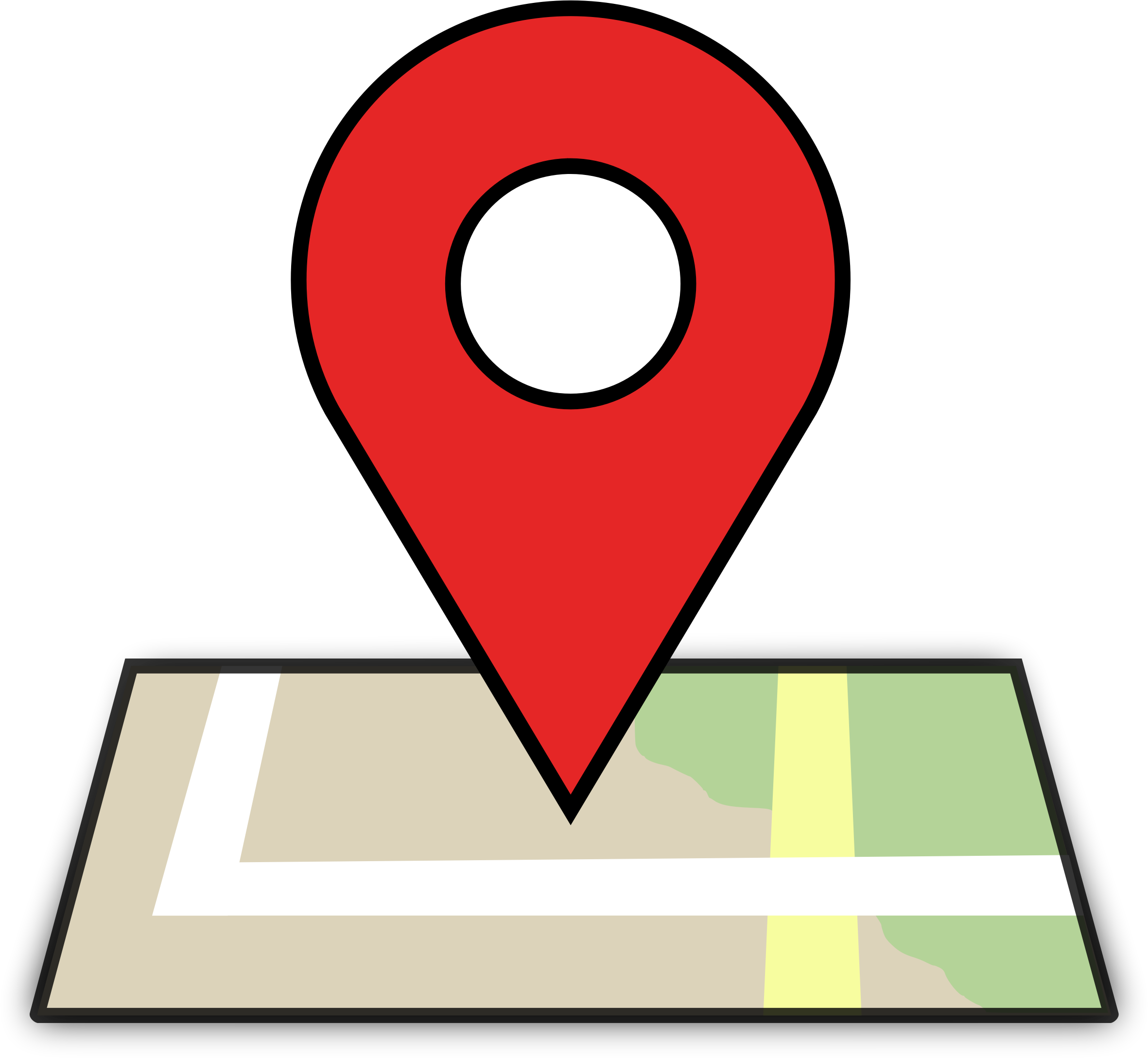 Clipart map location