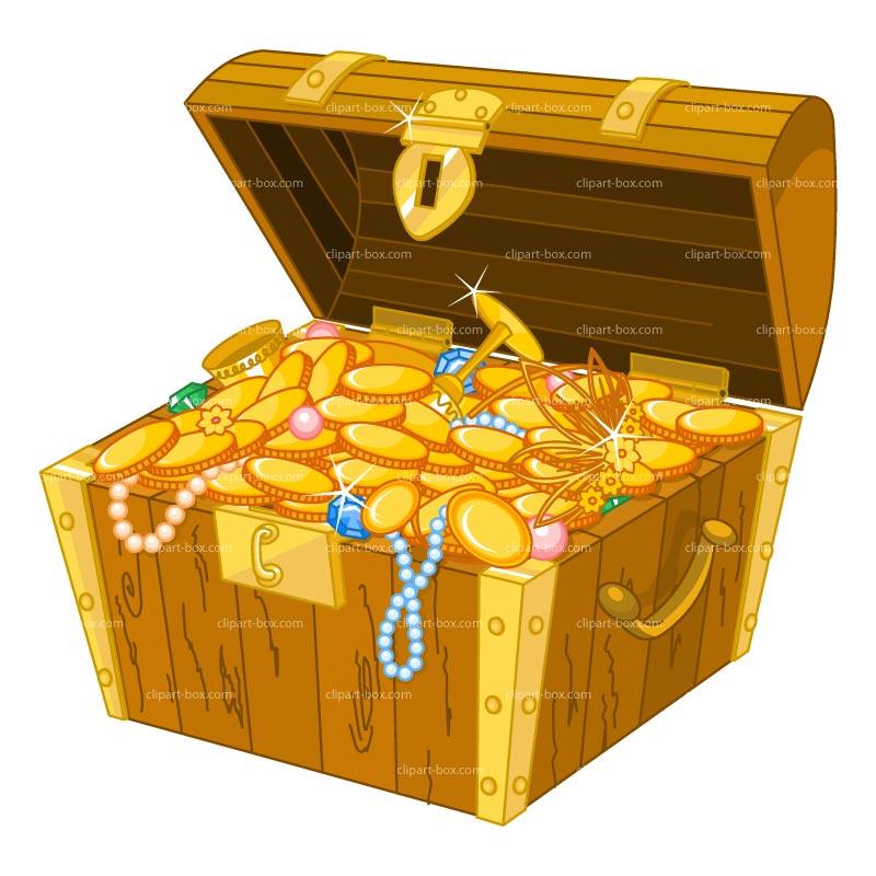 Clipart treasure chest clipartfest 6