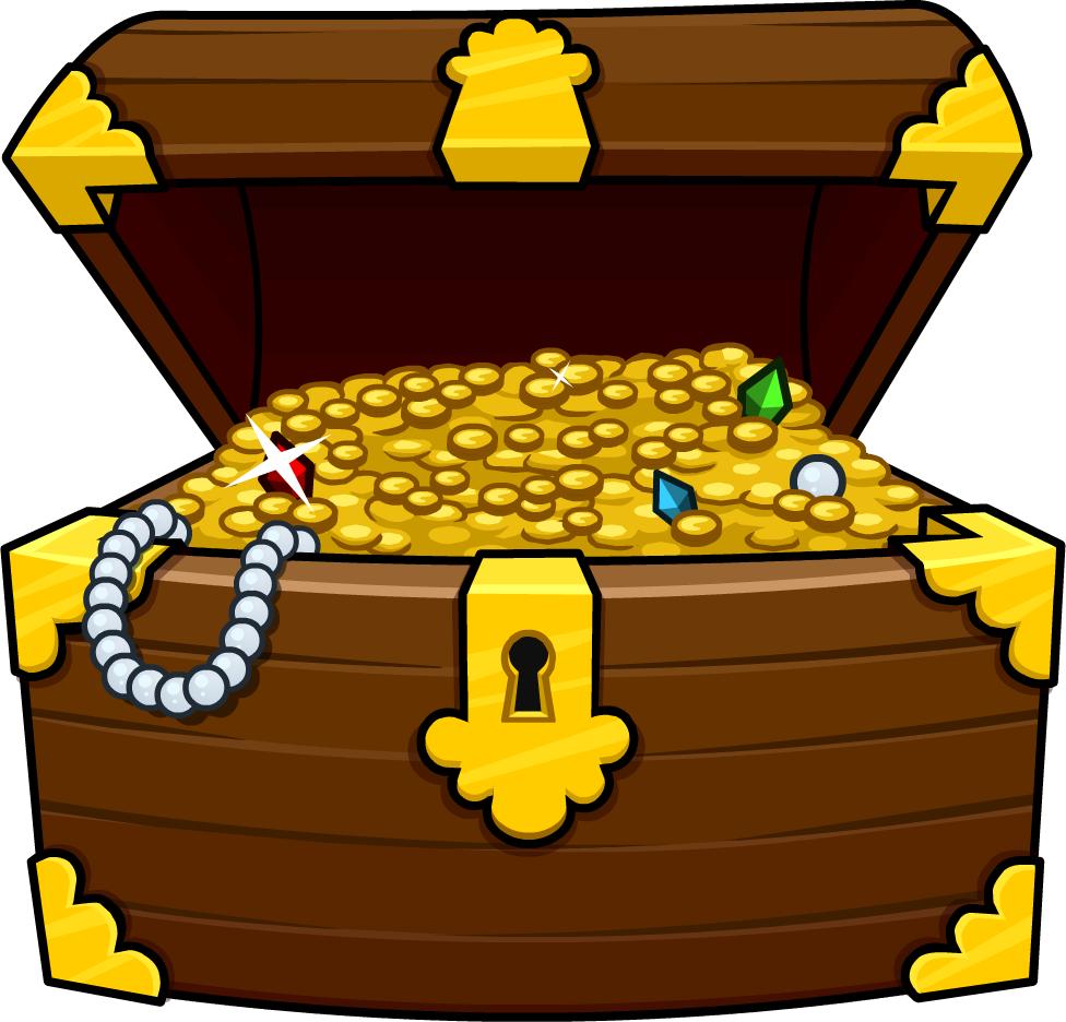 Clipart treasure chest clipartfest