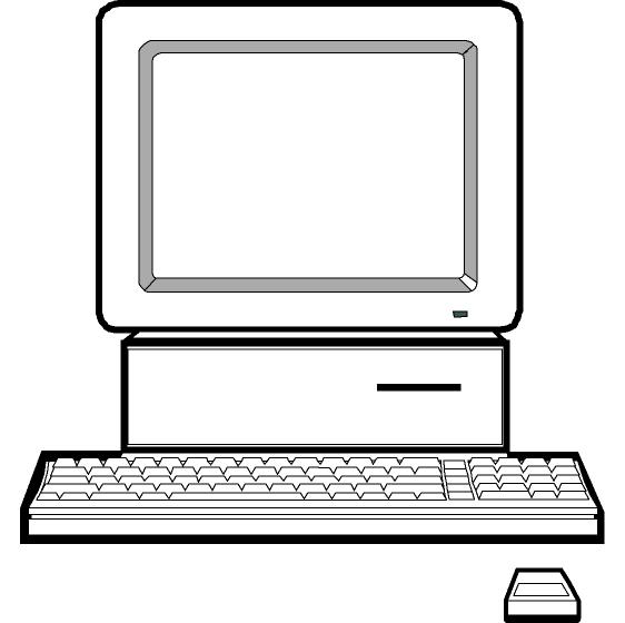 Computer clipart free images 7