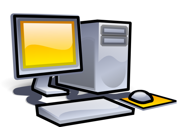 Computer desktopputer clipart free images 2