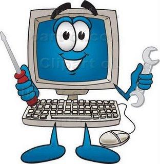 Computer happyputer clip art free clipart images
