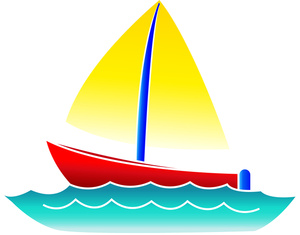 Cute sailboat clipart free images
