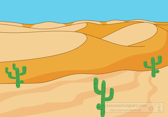 Desert cactus clipart