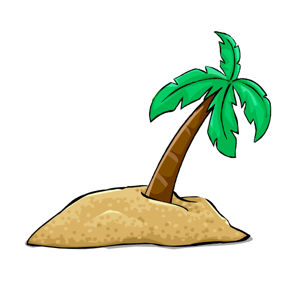 Desert island clipart clipartfest 2