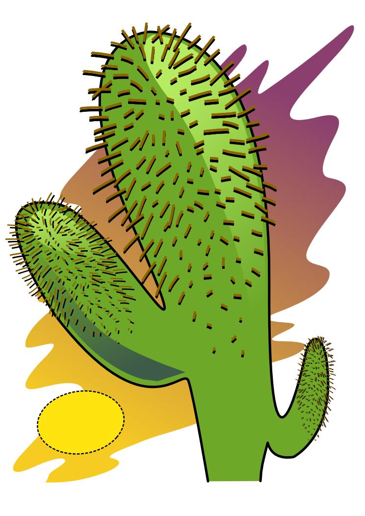 Desert plants clipart clipartfest