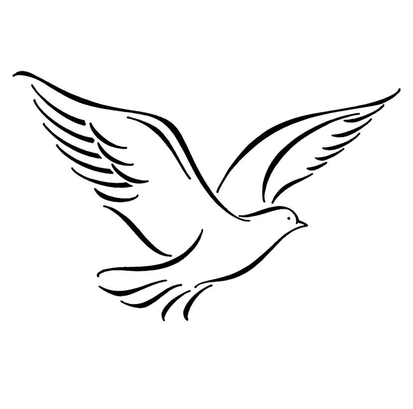 Dove clip art 6