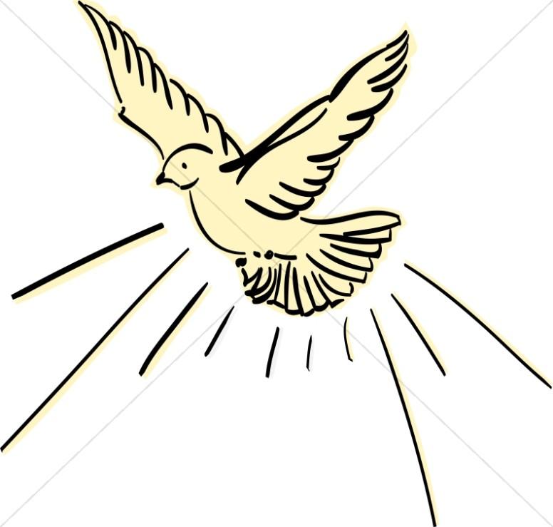 Dove clipart art graphic image sharefaith 11