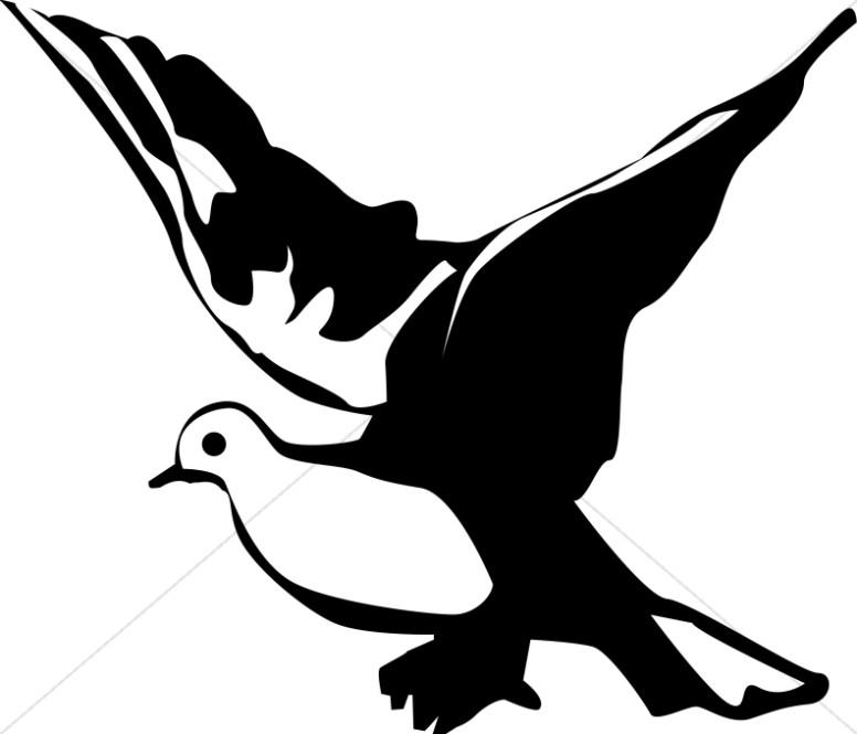 Dove clipart art graphic image sharefaith 3