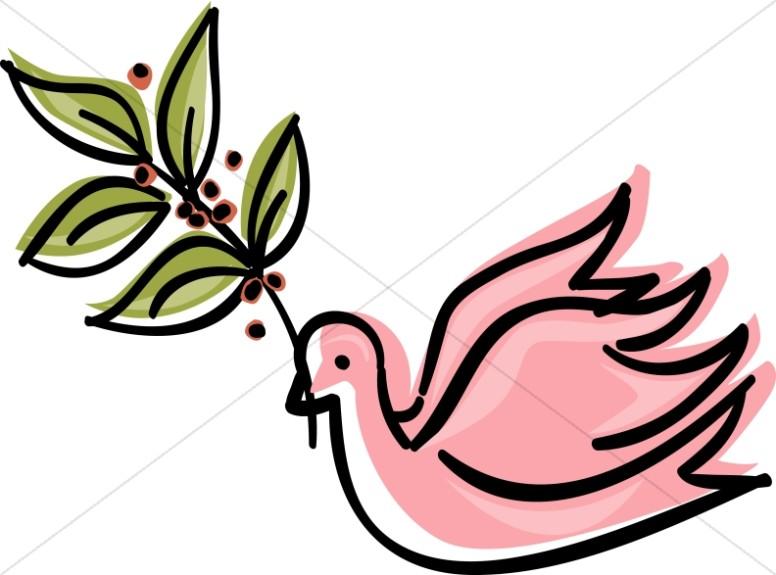 Dove clipart art graphic image sharefaith 7