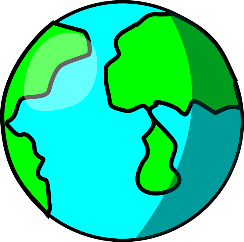 Earth free to use clipart